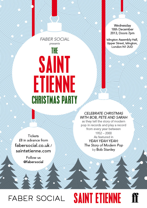 use this one Saint Etienne Christmas Party