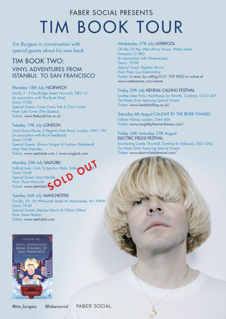 Tim Book Tour - Updated Poster