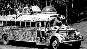 Ken Kesey and the Merry Pranksters. Photo by Lisa Law